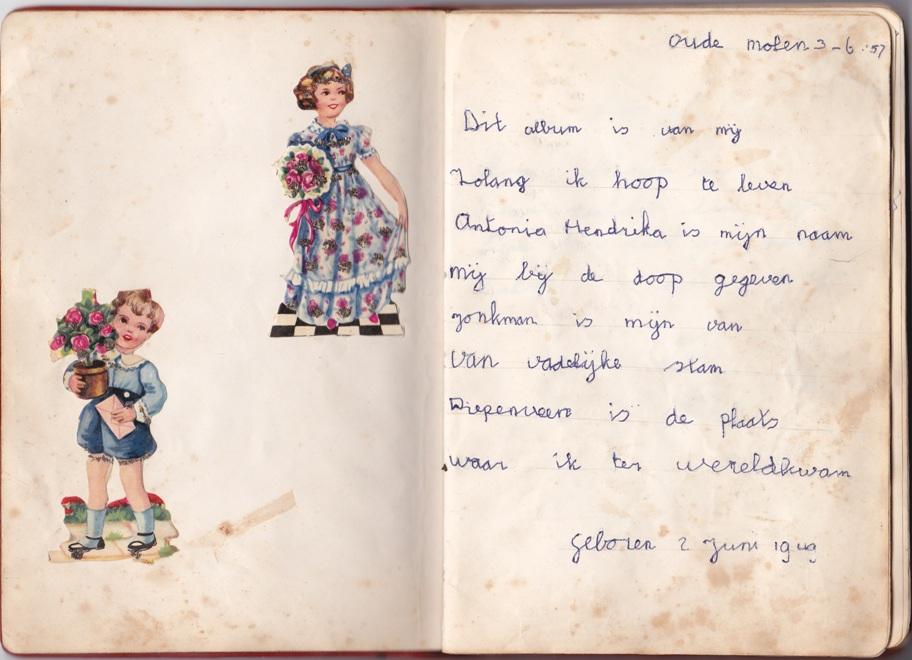 uit het poeziealbum van mijn oma (1914) | poëzie